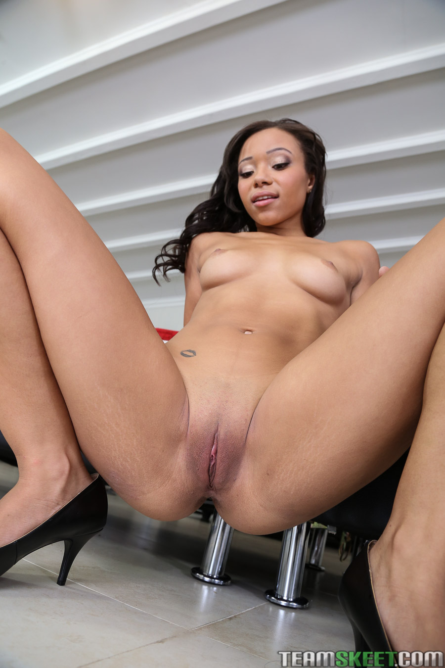 Marina visconti gets to take two black cocks 6